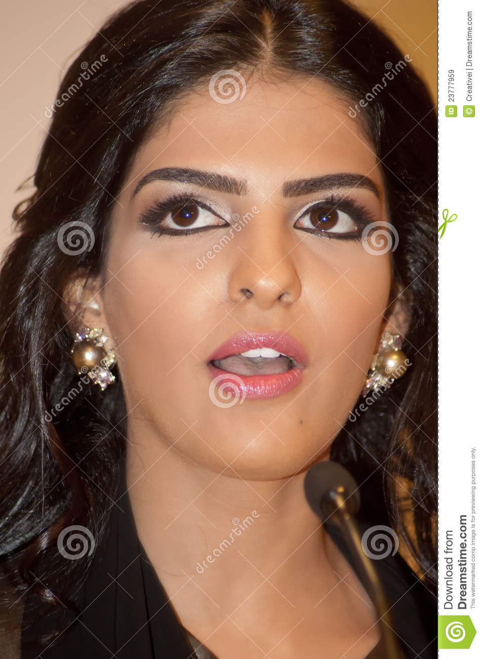 her highness princess ameerah al taweel editorial stock image image