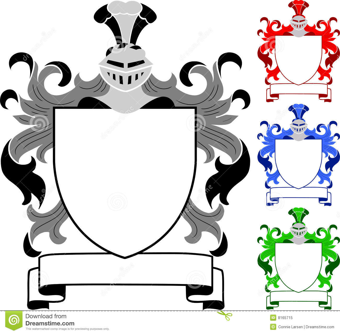The Gallery For Gt Blank Family Crest Printable