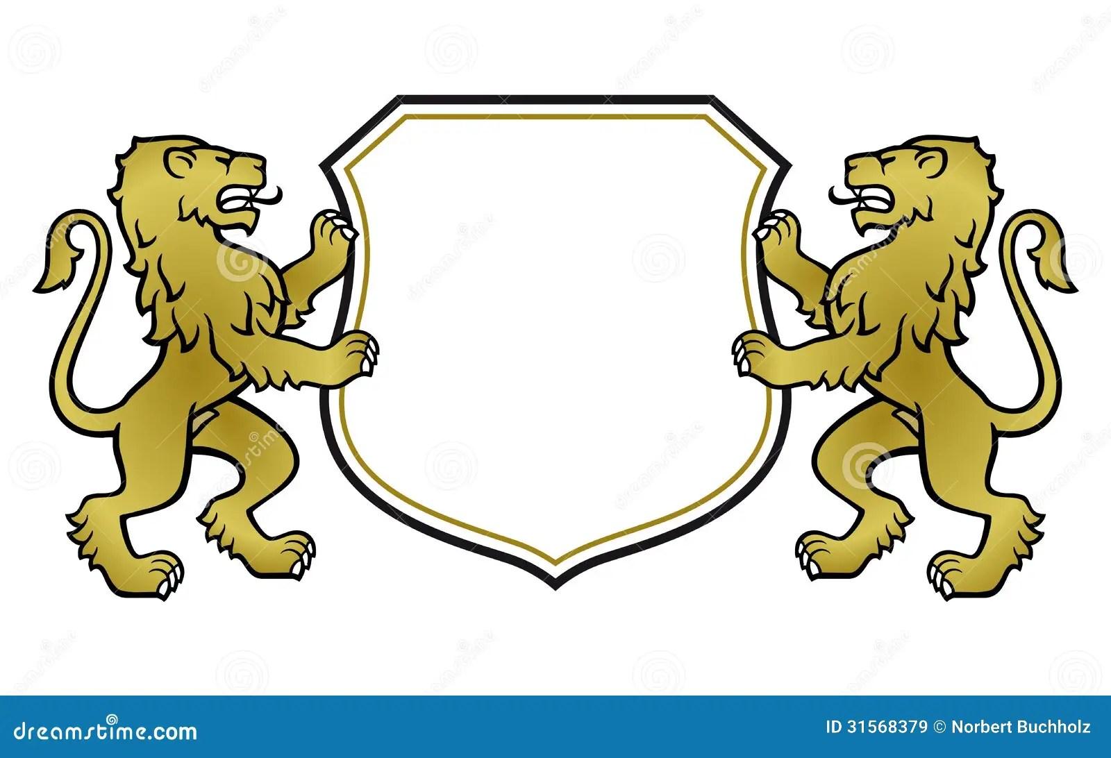 Printable Coat Arms Shield