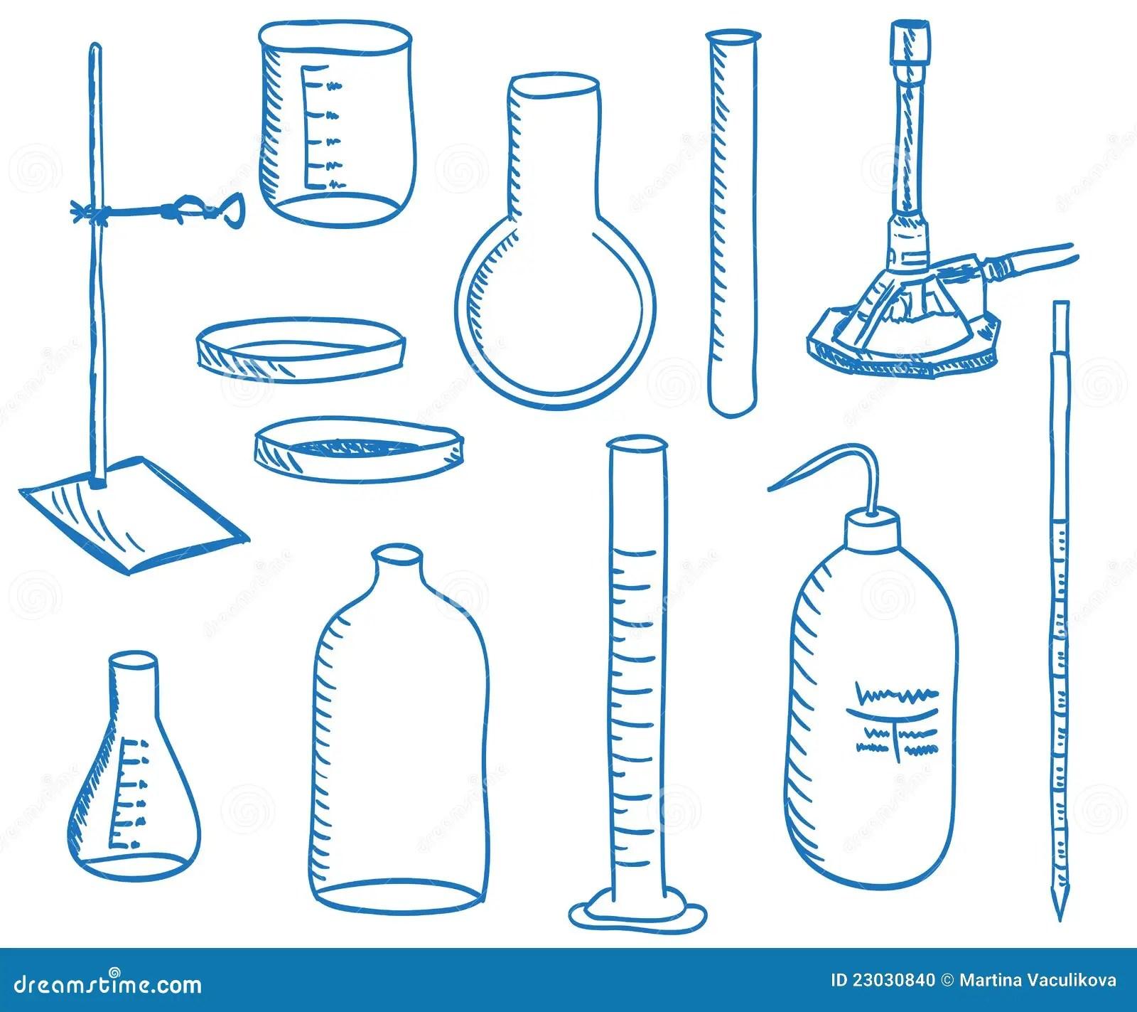 Het Laboratoriumapparatuur Van De Wetenschap