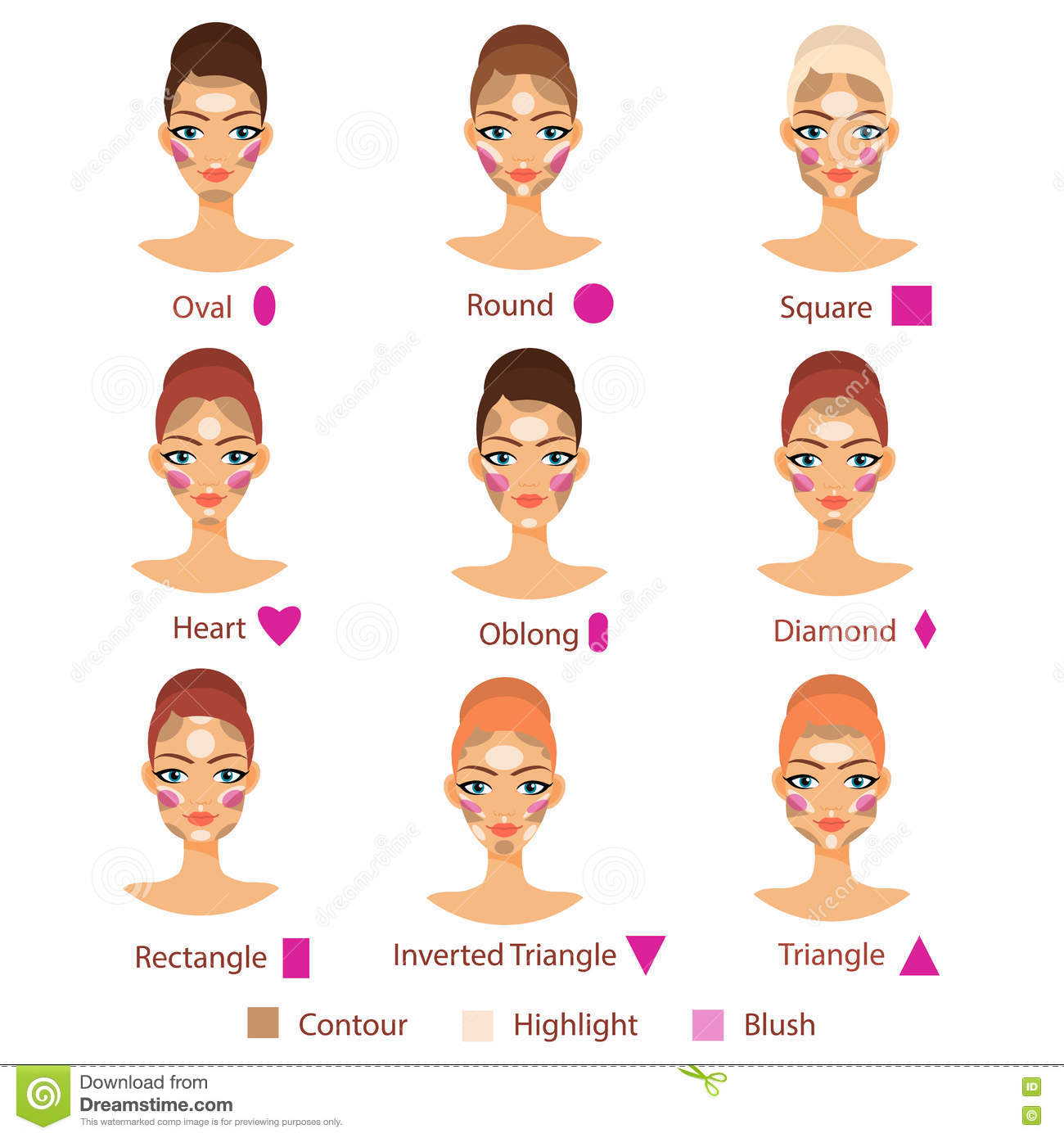 Blush Cartoons Illustrations Amp Vector Stock Images 6797