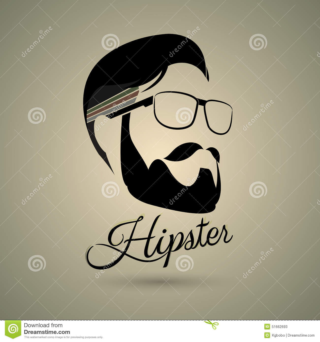 Hipster Symbol Style Stock Vector Illustration Of Retro