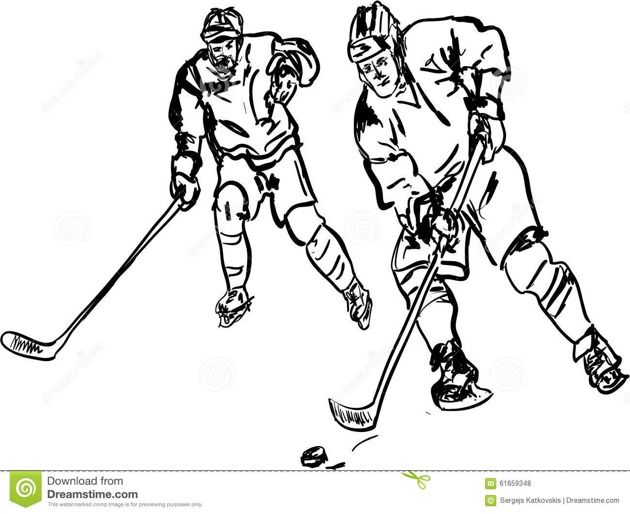 Hokey Stock Illustration Image Of Goalkeeper Sports