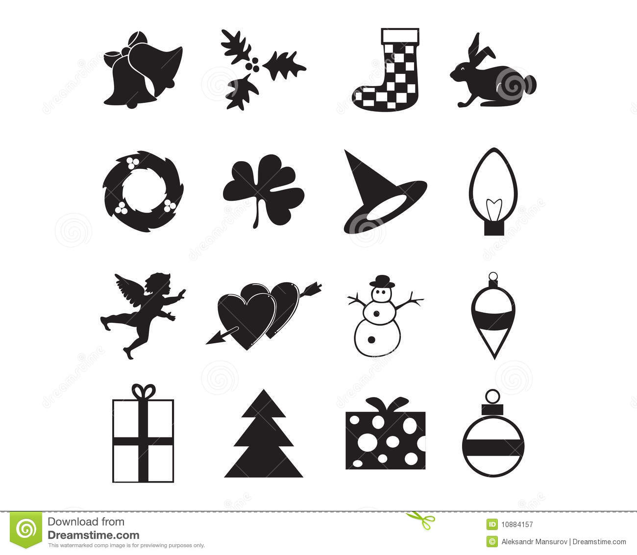 Holiday Icon Royalty Free Stock Photography