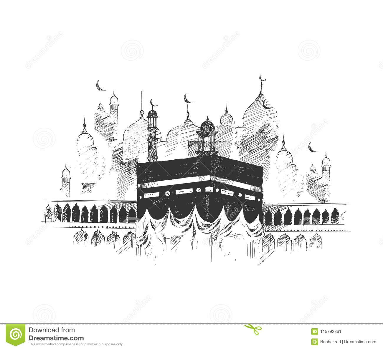 Kaaba Cartoons Illustrations Amp Vector Stock Images 2319 Pictures To Download From