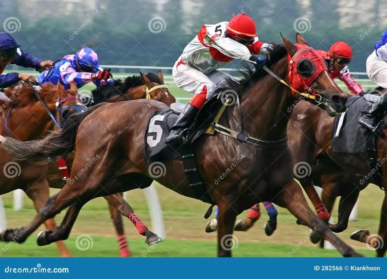 Horse Racing Royalty Free Stock Image - Image: 282566