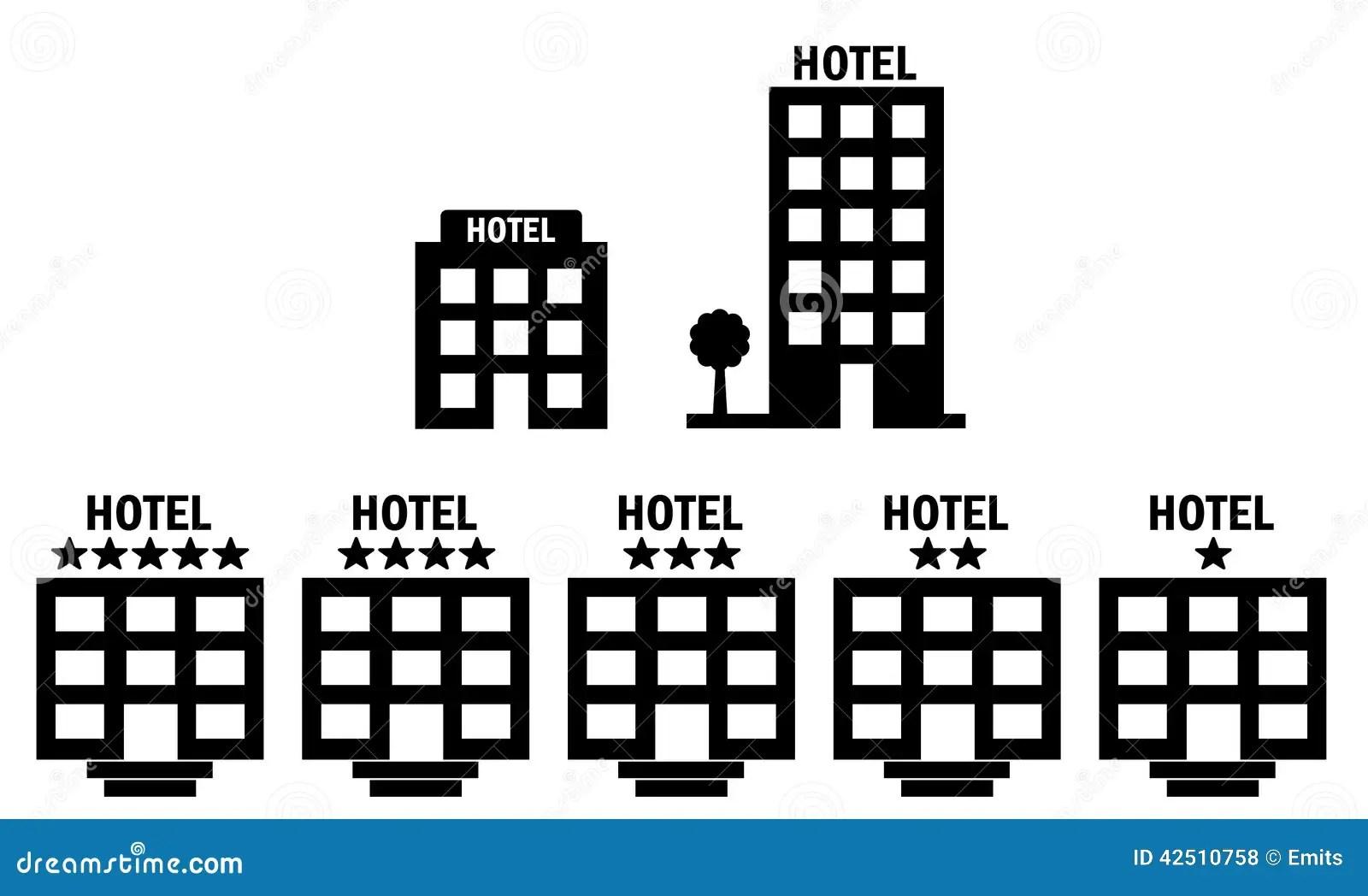 Hotel Icons Stock Photo Illustration Of Quality