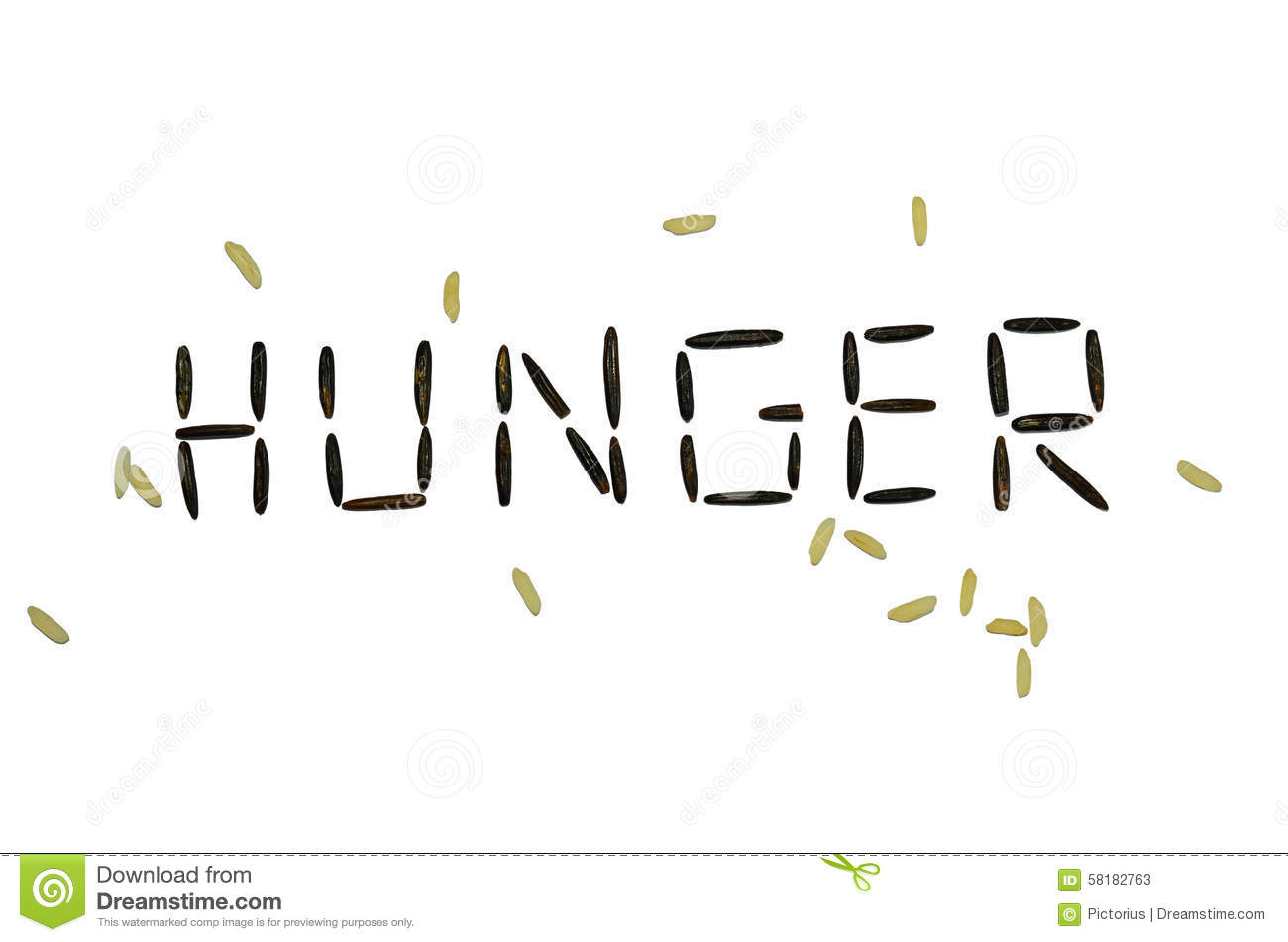 Hunger Stock Image Image Of Composed Shortages