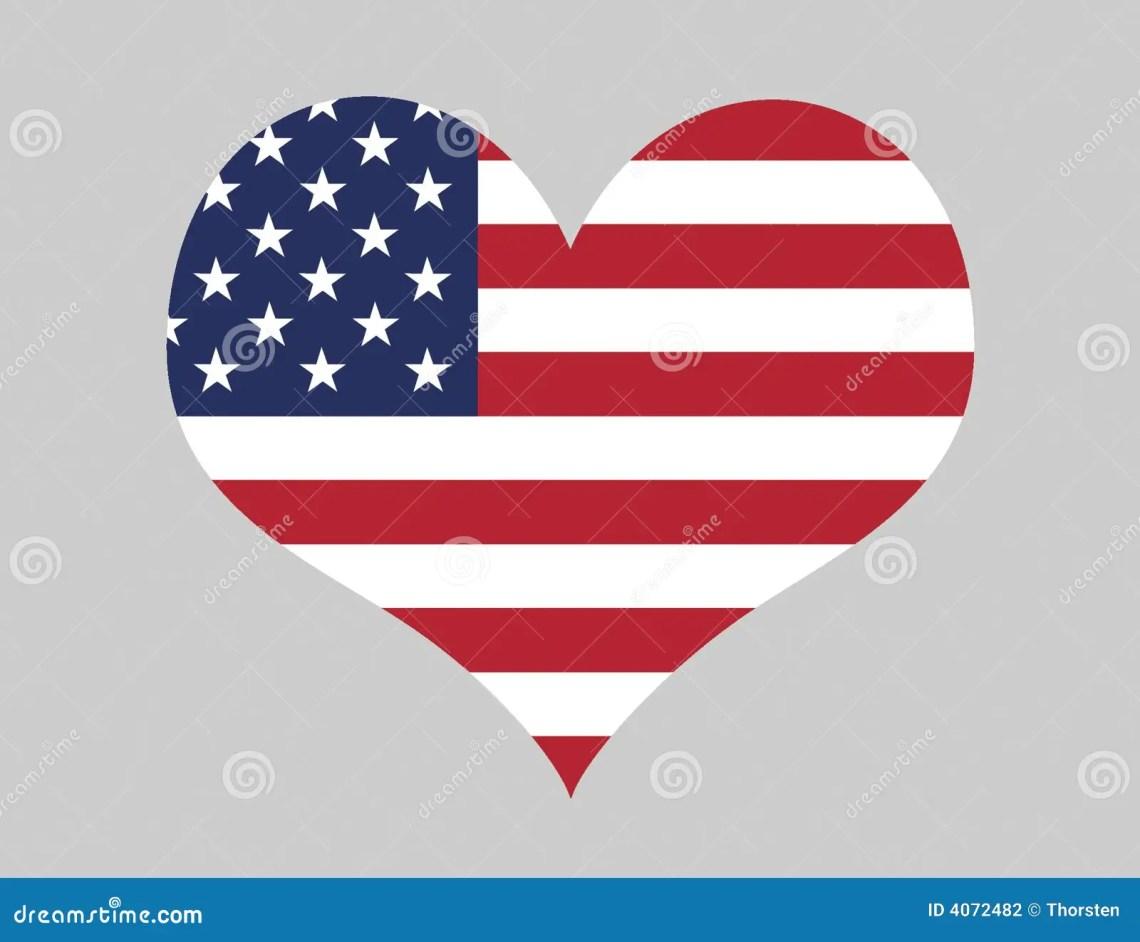 Download I Love The USA stock illustration. Illustration of ...