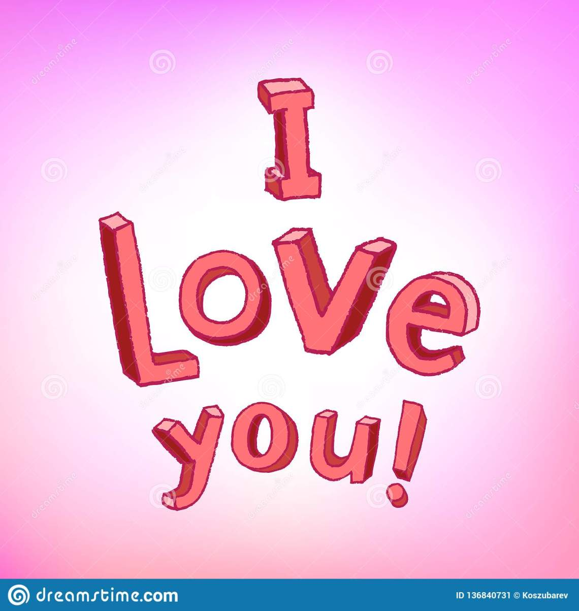 Download I Love You With Children Letters Stock Vector ...