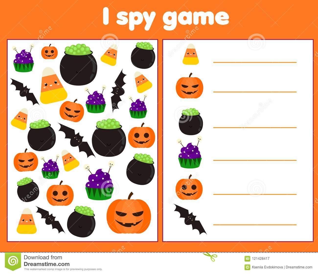 Halloween I Spy Bundle Pack Halloween Special And