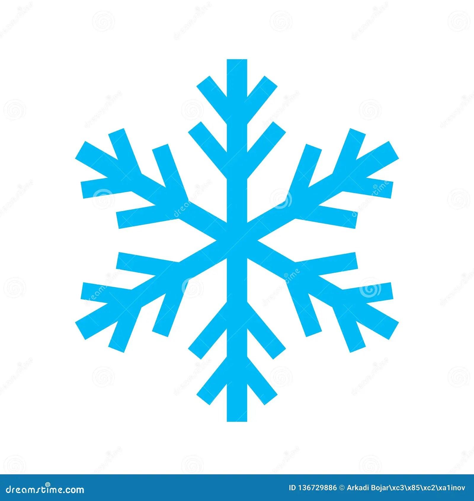 Icone De Vecteur De Flocon De Neige Illustration De Vecteur Illustration Du Humidite Climat 136729886