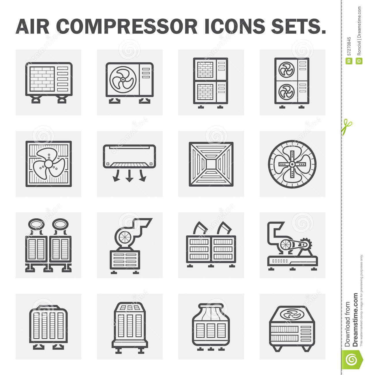 Icons Stock Vector