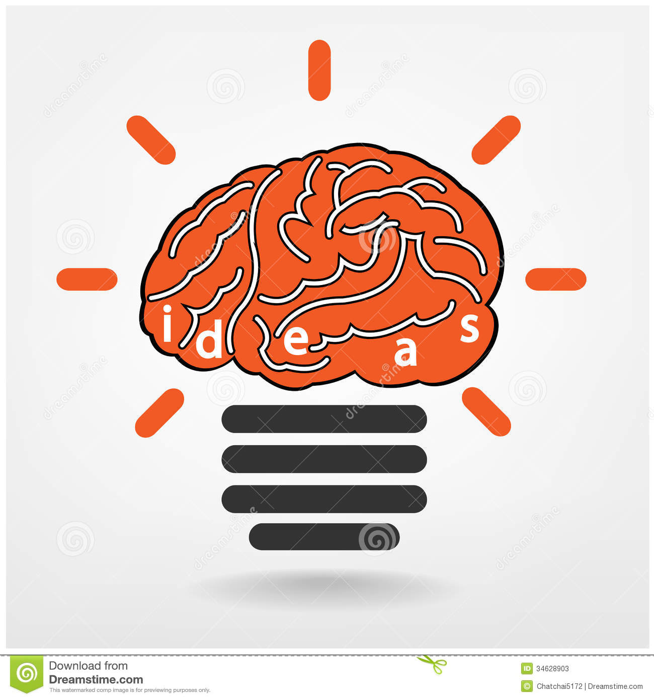 Ideas Sign Knowledge Sign Stock Photos Image 34628903