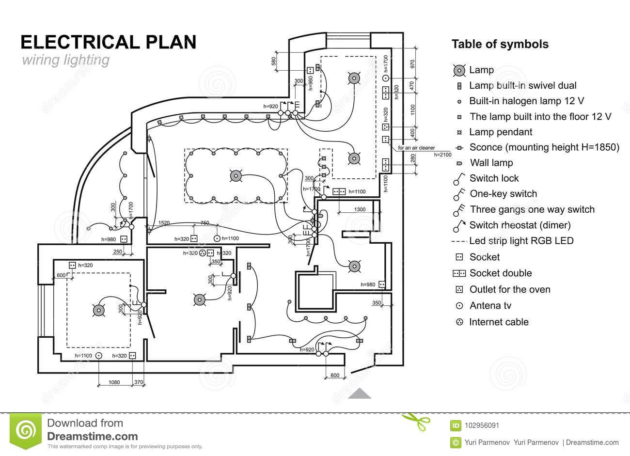 Wiring Schematic Drawing Of House