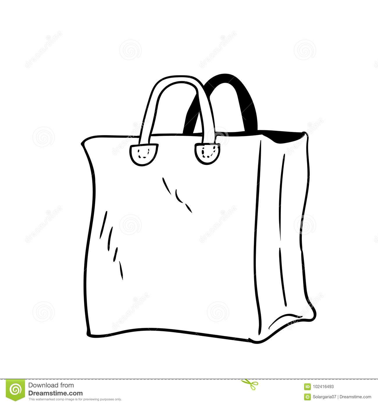 Illustration Of Bag