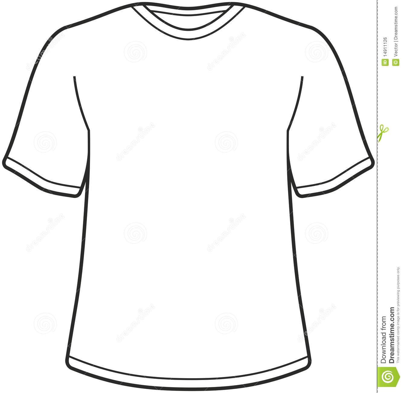 Illustration Du T Shirt Des Hommes Illustration De Vecteur