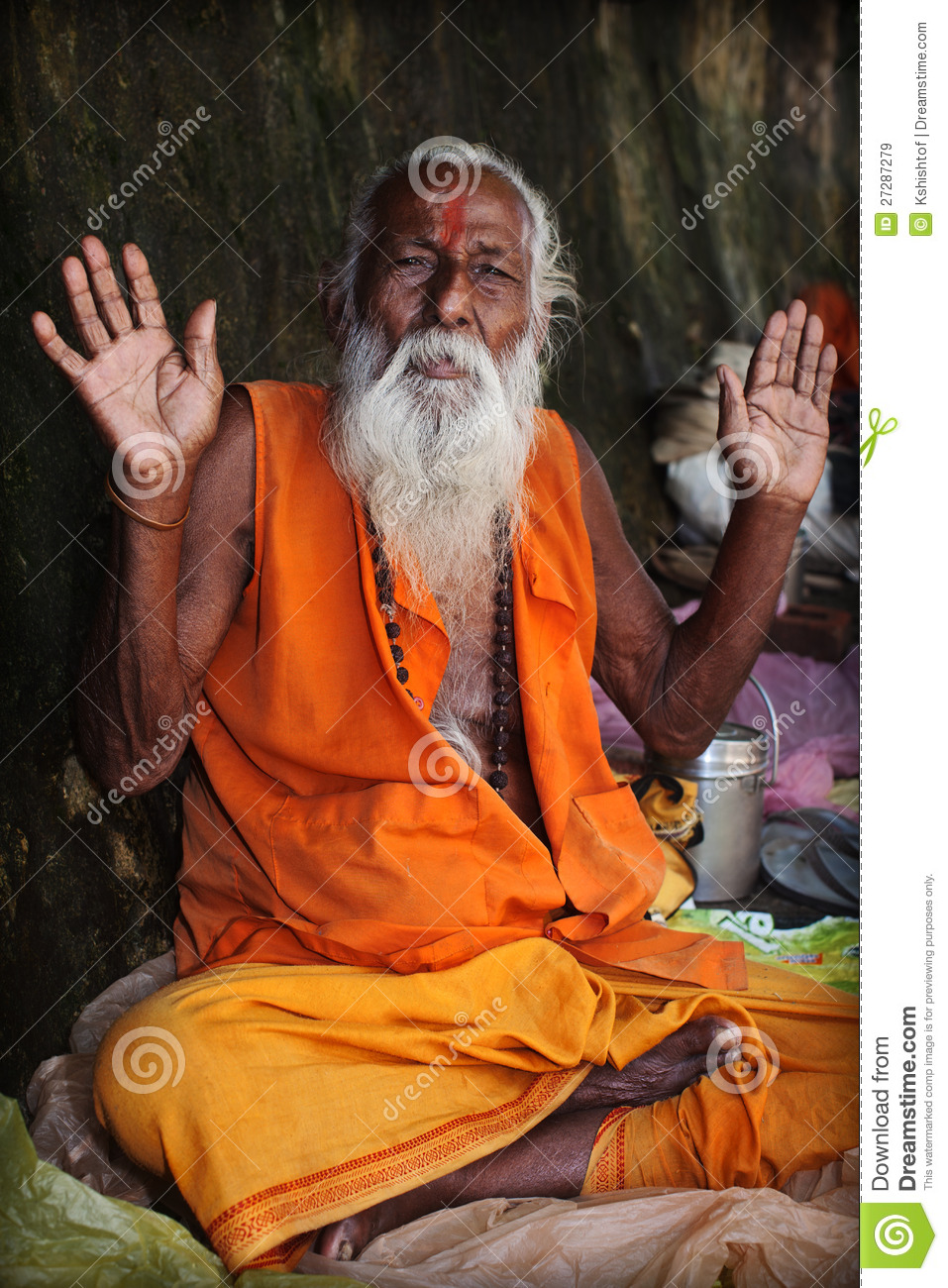 Indian Sadhu Royalty Free Stock Images Image 27287279