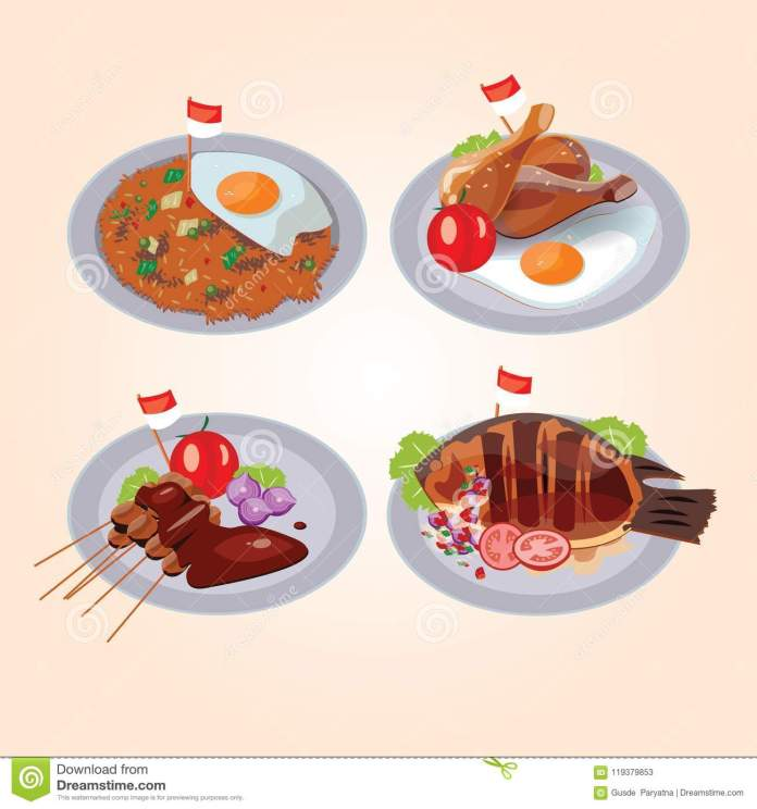 Indonesian Food Stock Illustrations 1 409 Indonesian Food Stock Illustrations Vectors Clipart Dreamstime