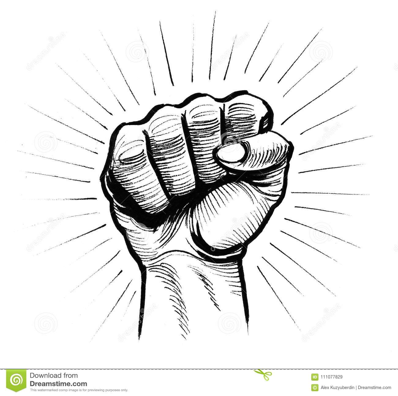 Rebel Fist Stock Illustration Illustration Of Hand