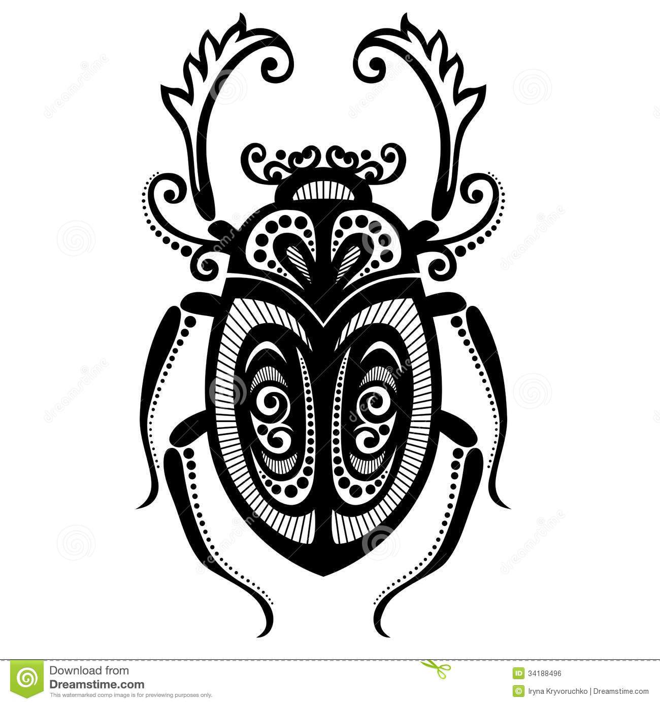Beetle Cartoons Illustrations Amp Vector Stock Images