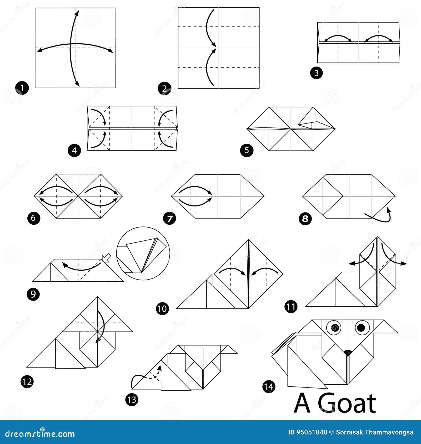Instructions Etape Par Etape Comment Faire A Origami Une