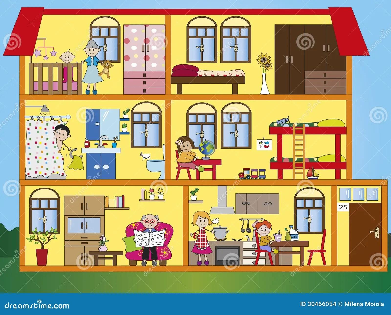 French Printable Worksheet Famille