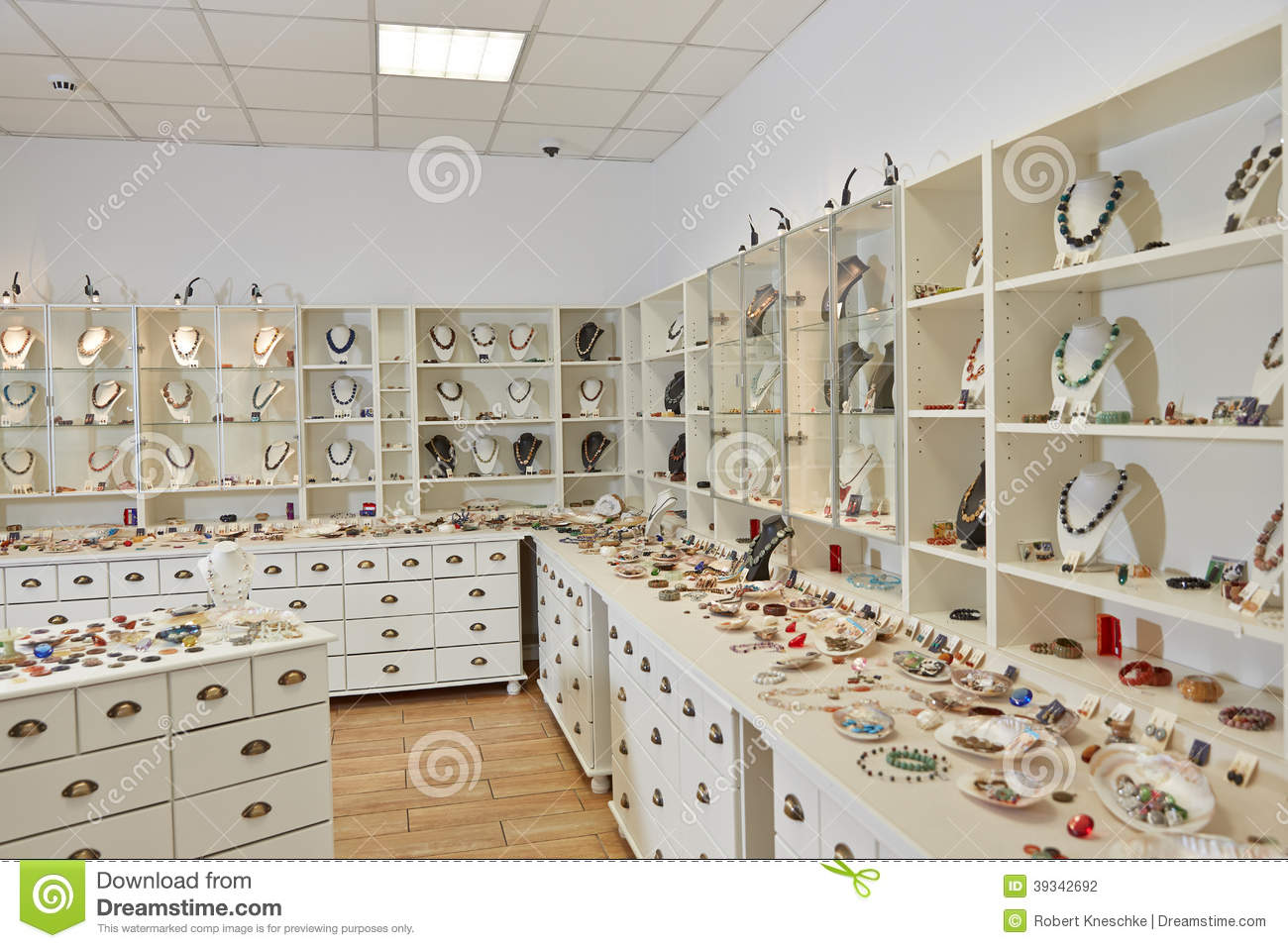 Interior Decoration Of Jewelry Stock Photo Image 39342692
