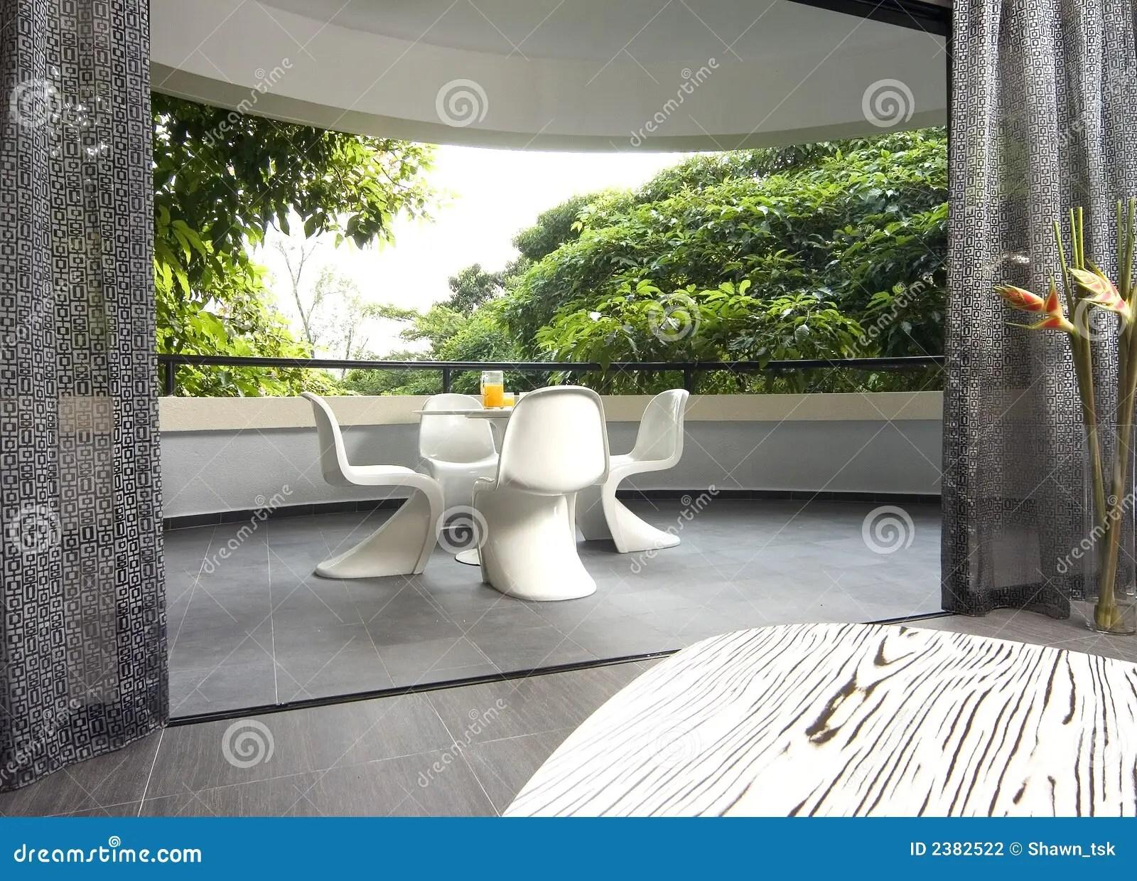 Interior Design Balcony Stock Photography Image 2382522