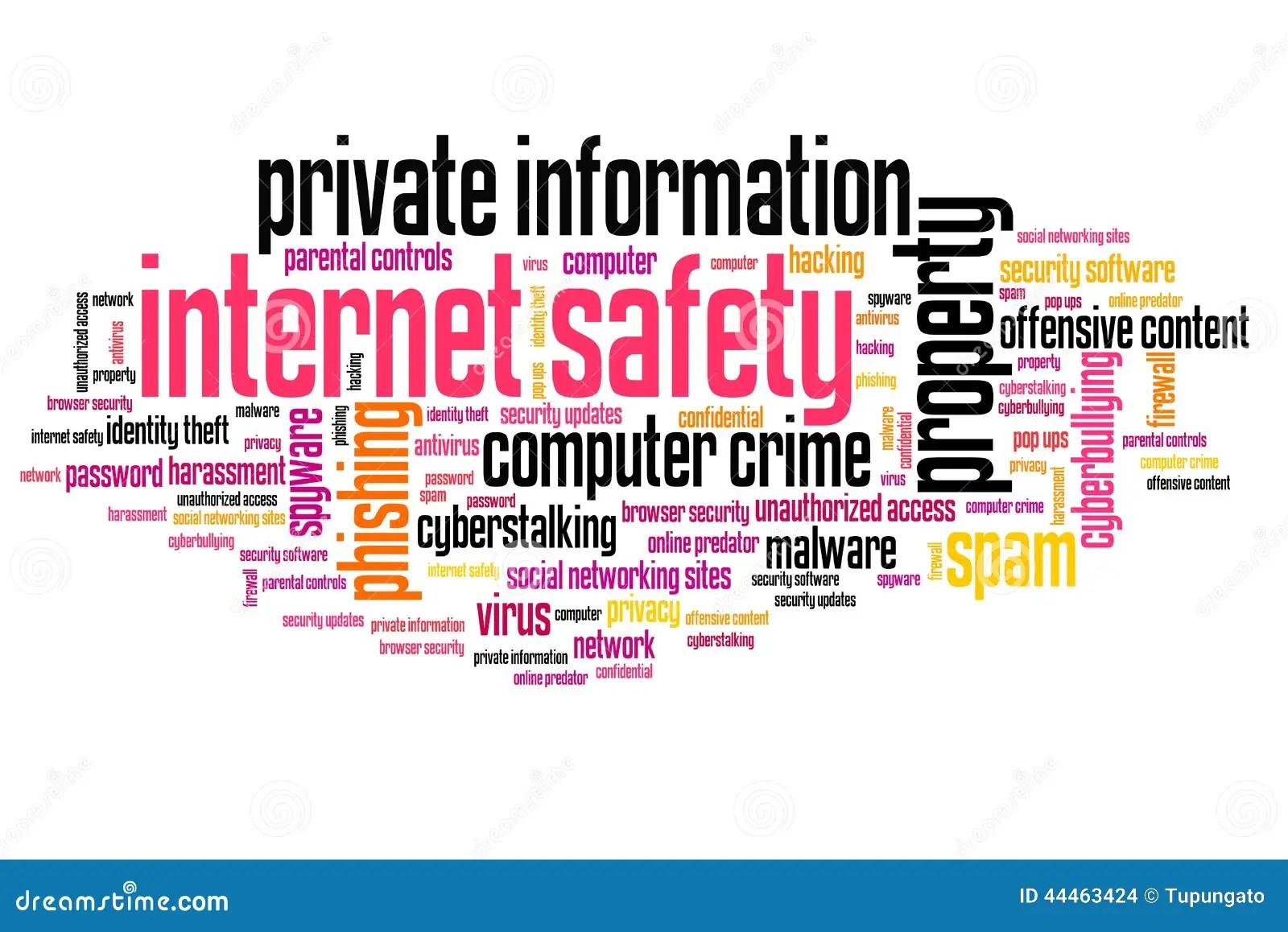 Internet Safety Stock Illustration Illustration Of Idea