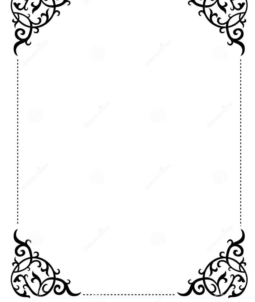 Invitation Border Frame