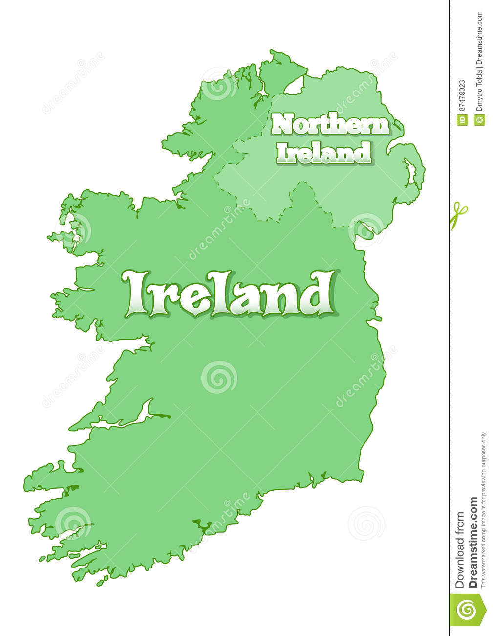 map republic ireland      Free Wallpaper for MAPS   Full Maps Free Maps of Ireland Dail Eireann Constituencies Map showing the Da l  Eireann electoral constituencies in the Republic of Ireland as of the  election kB Map