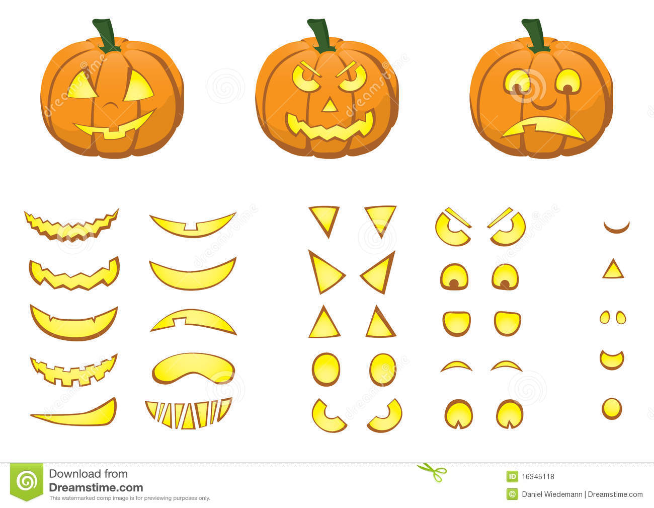 Jack O Lantern Royalty Free Stock Photos