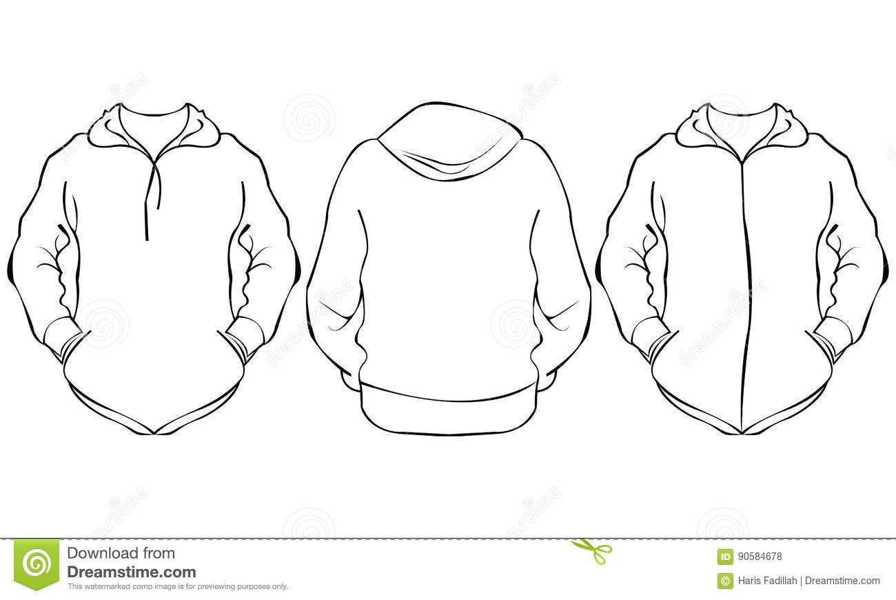 Jacket Stock Vector Image Of Garment Adult Accessories
