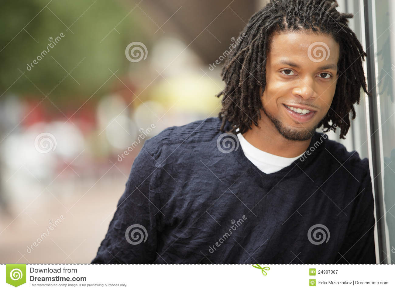 Jamaican Man Smiling Royalty Free Stock Photography