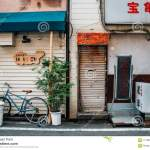 Japanese Old Restaurant Exterior In Fukuoka Japan Editorial Photography Image Of Facade Detail 111569187