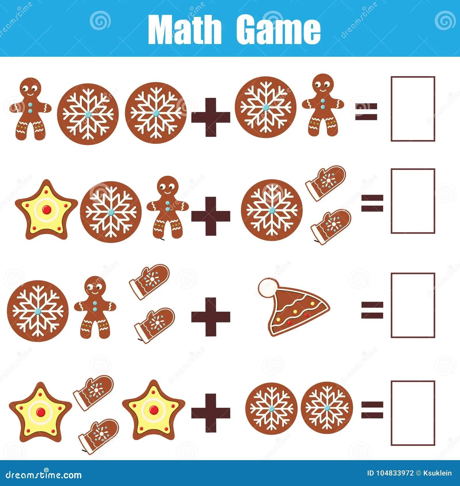 Jeu Educatif De Maths Pour Des Enfants Compte Des