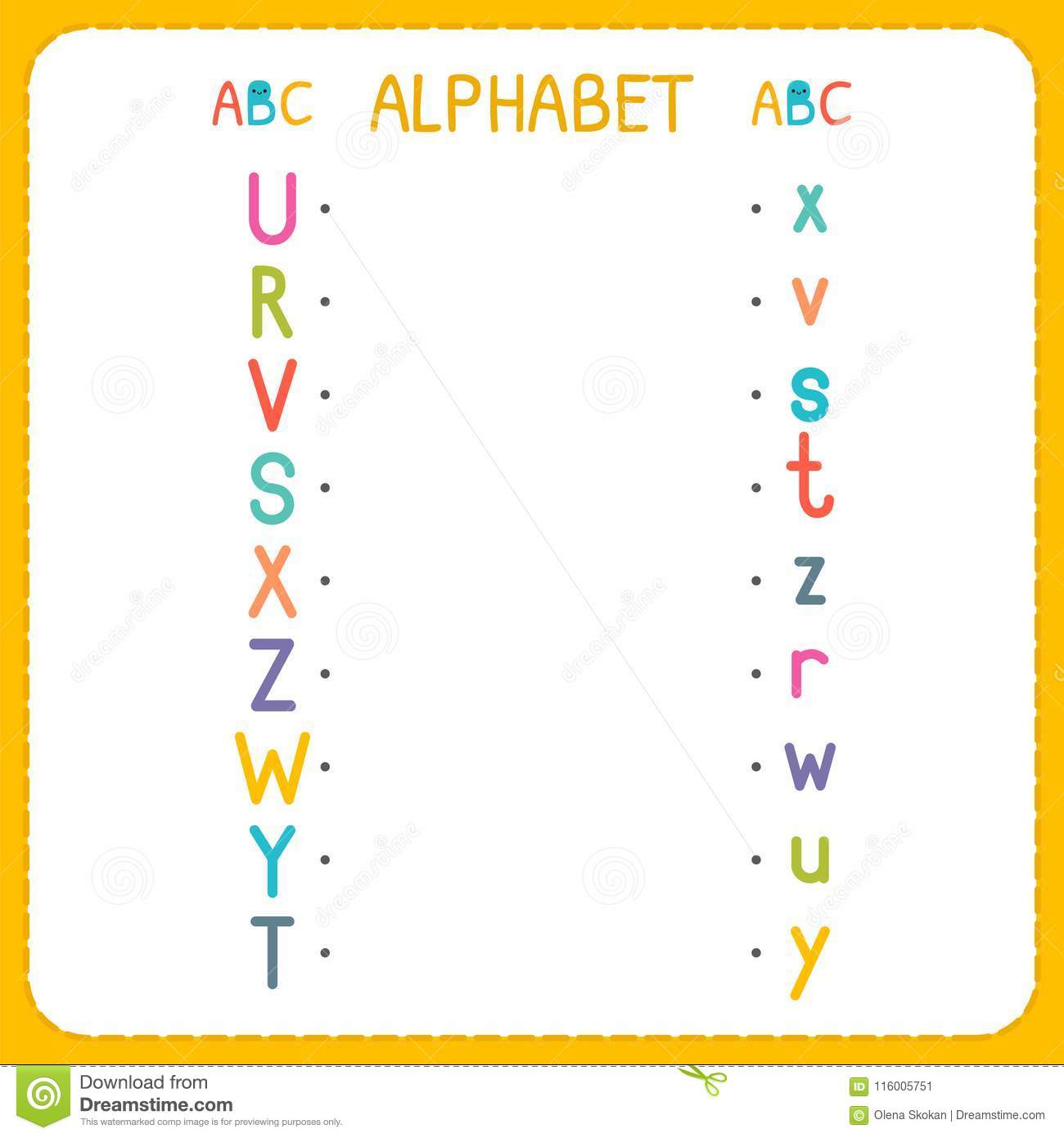 Join Each Capital Letter With The Lowercase Letter From R