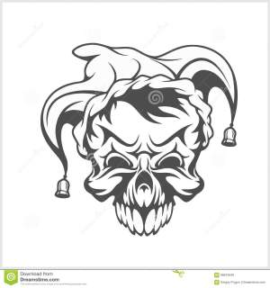 Skull In Cap Royalty Free Stock Photo  Auto Electrical Wiring Diagram