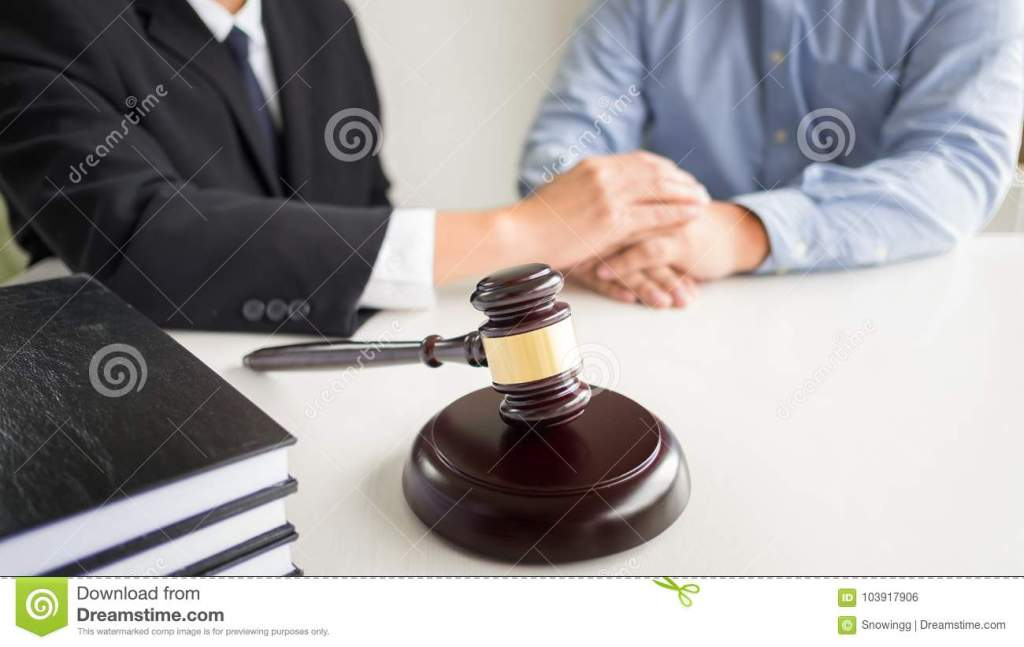 Judge Gavel With Lawyers Advice Legal At Law Firm I