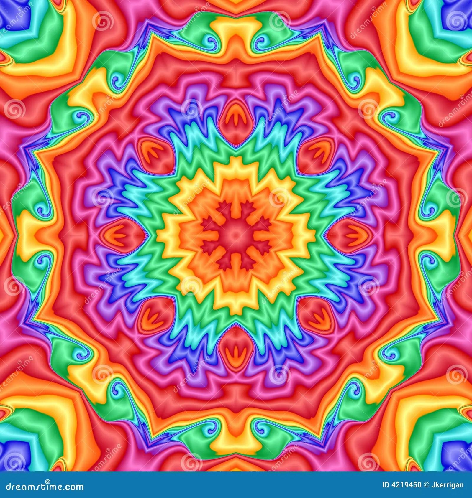 Kaleidoscope Stock Illustration Image Of Digital Blue
