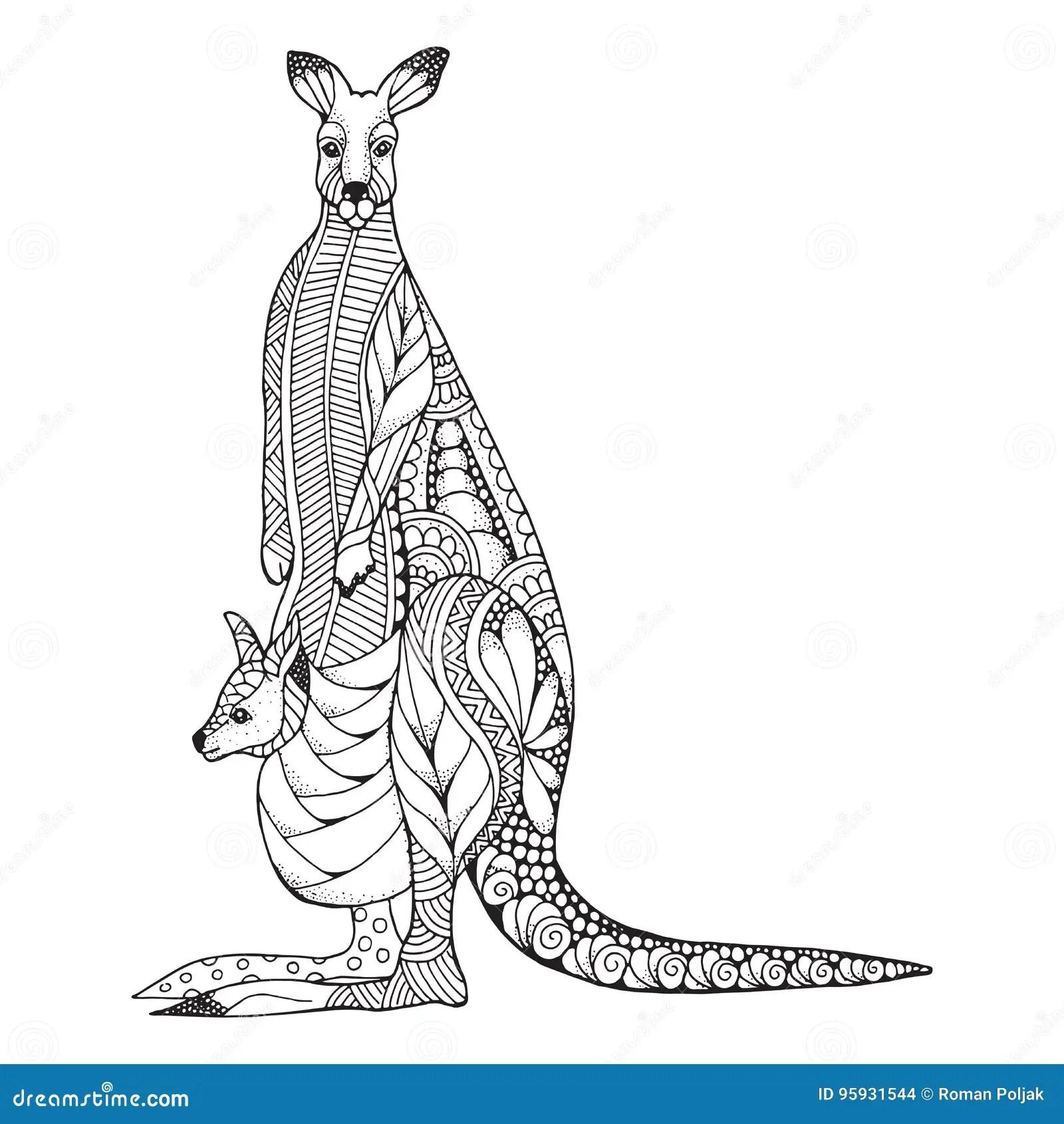 Kangaroo Joey Stock Illustrations 782 Kangaroo Joey