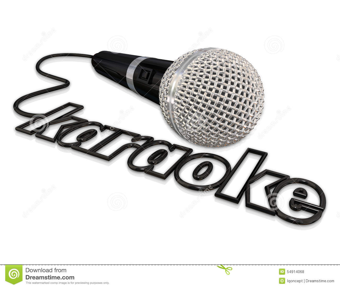 Karaoke With Microphone