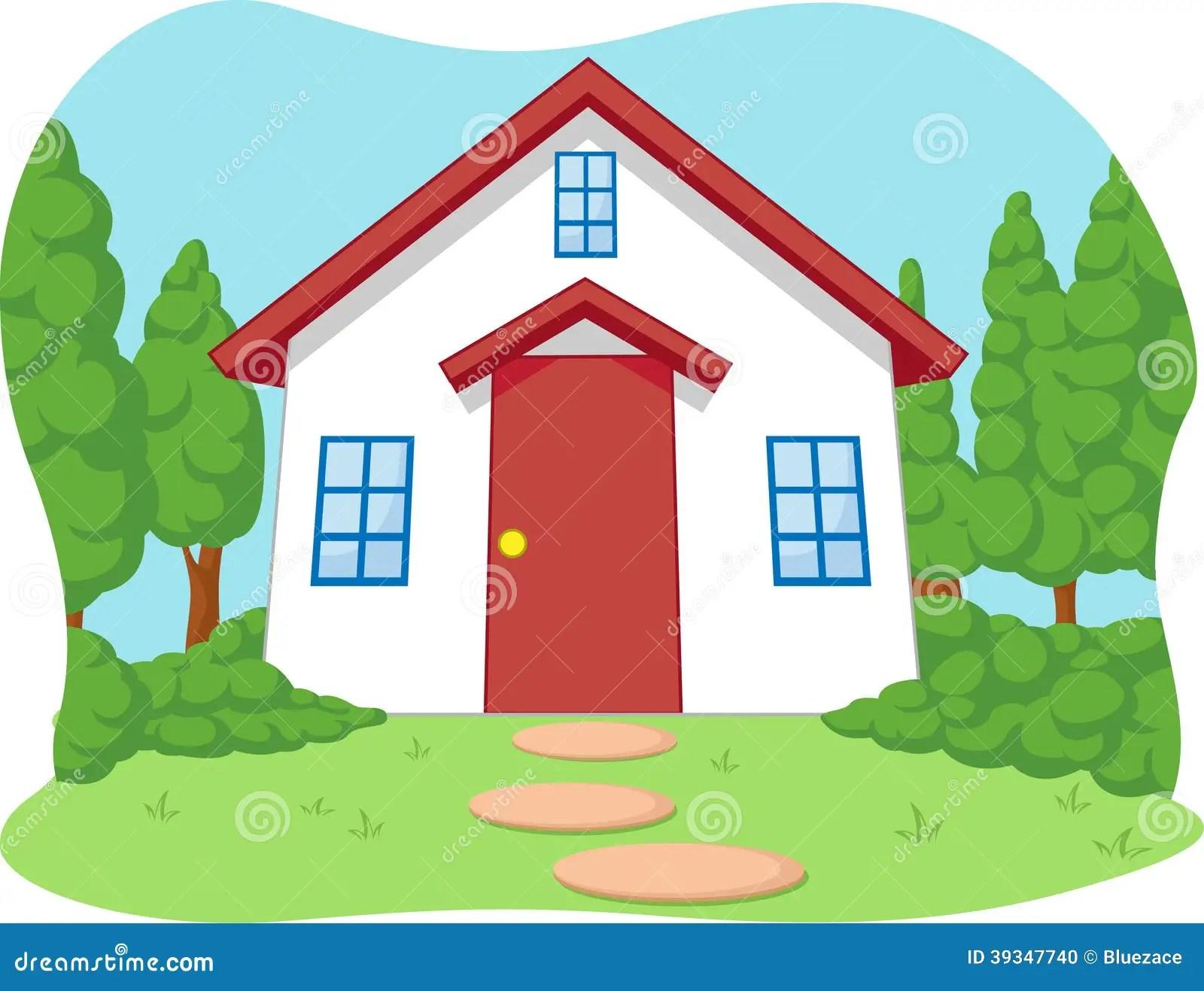 Haus Mit Garten Comic
