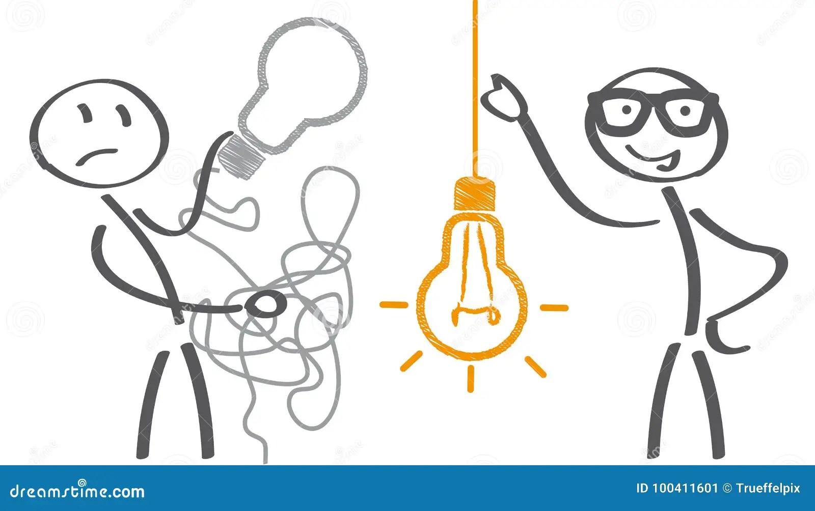 Keep It Simple Concept Stock Illustration Illustration Of