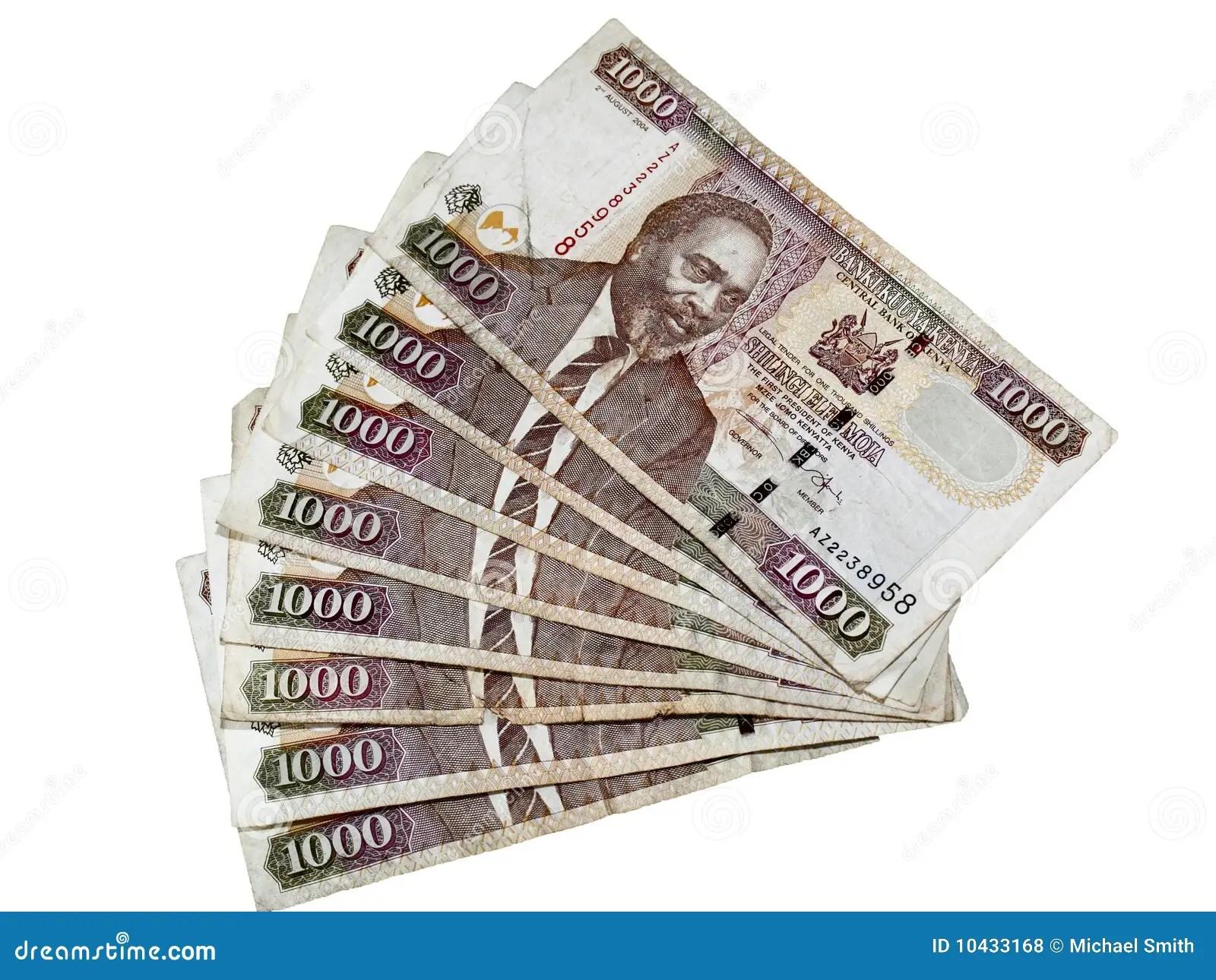 Kenyan Currency Stock Photo Image Of Shillings Kenya