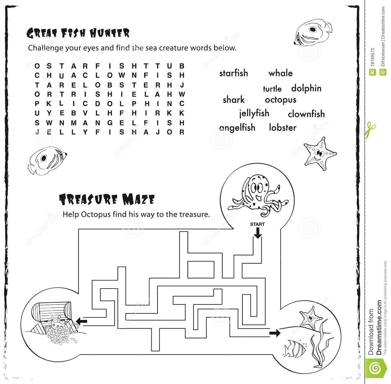 Preschool Worksheet Literacy Moana