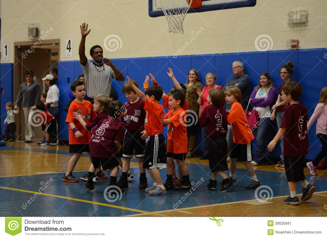 Kids Playing Basketball Editorial Photo Image Of Practice