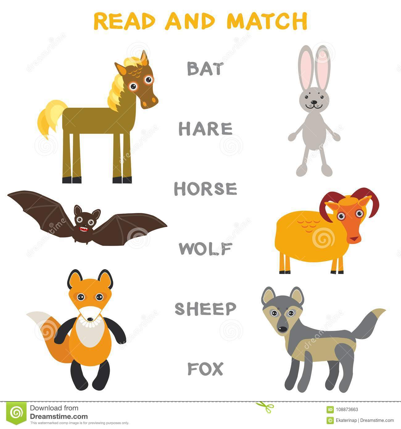 Funny Learning Maze Game Find All Of Cute Wild Animals 3