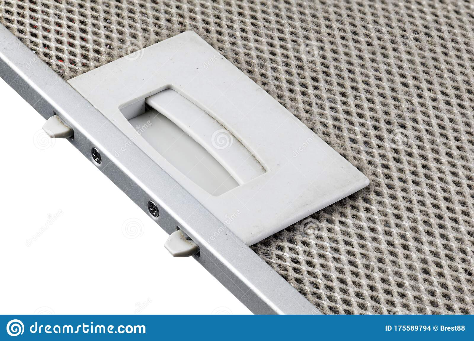 kitchen hood filter on a white background contaminated kitchen exhaust filter stock photo image of isolated design 175589794